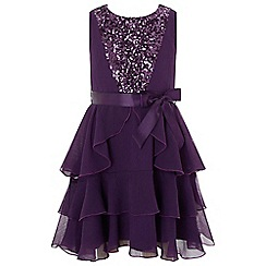Monsoon - Girls' Purple 'Martella' dress