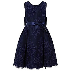 Monsoon - Girls' blue 'Valeria' lace dress