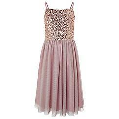 Monsoon - Girls' Gold 'leia' prom dress