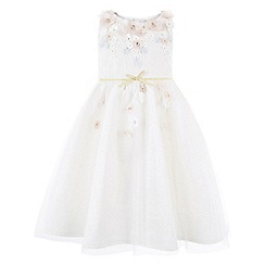 Monsoon - Girls white cherry blossom dress