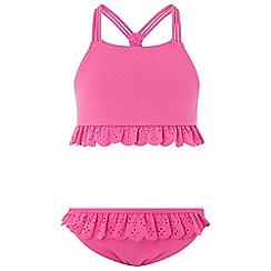 Monsoon - Girls' pink millie bikini