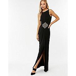 Monsoon - Black 'sandra' embellished maxi dress