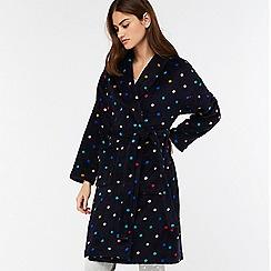 Monsoon - Blue 'Lyra' spot robe