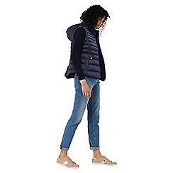 Monsoon - Blue 'Rachel' quilted gilet