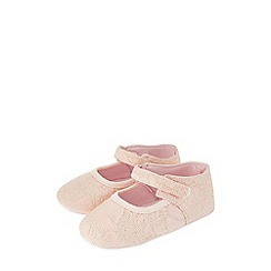 Monsoon - Pink 'Cecilia' jacquard walker boots