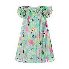 Monsoon - Green Baby 'Lively' Dress