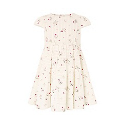 Monsoon - White baby 'Sofia' dress