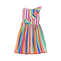 Monsoon - Blue baby 'Sakira' stripe dress