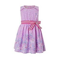 Monsoon - Purple baby 'Celina' unicorn dress