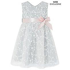 Monsoon - Grey baby 'Rosalie' dress