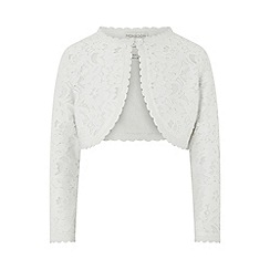 Monsoon - White baby 'Eliona' cardigan