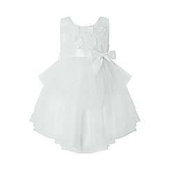 Monsoon - White baby 'Eliona' dress