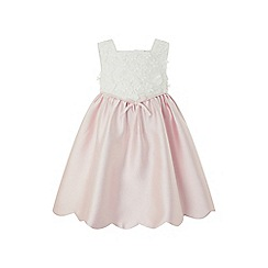 Monsoon - Pink baby 'Belle' dress