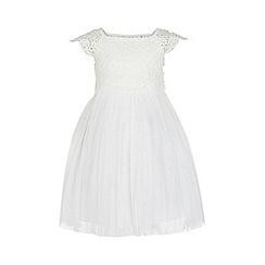 Monsoon - White baby 'Estella' dress