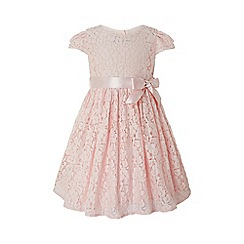 Monsoon - Pink baby 'Caterina' lace dress