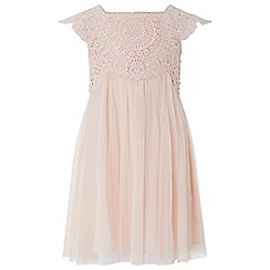 Monsoon - Pink baby 'estella' dress