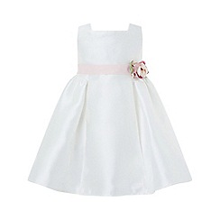 Monsoon - White baby 'Pearl' duchess dress