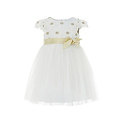 Monsoon - White baby 'Daisy' lace dress