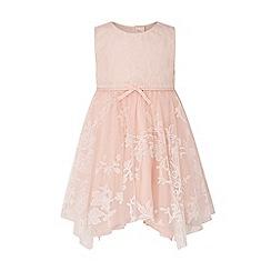 Monsoon - Pink Baby 'Princesa' Sparkle Dress