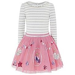 Monsoon - Pink disco acrobat dress