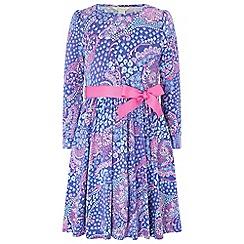 Monsoon - Purple 'Simone' jersey dress