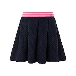 Monsoon - Blue 'Quinn' quilted skirt