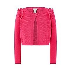 Monsoon - Pink 'Rebecca' texture bolero