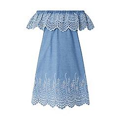 Monsoon - Blue 'Aleaha' Chambray Dress