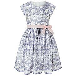 Monsoon - Purple 'Otylia' lace print dress
