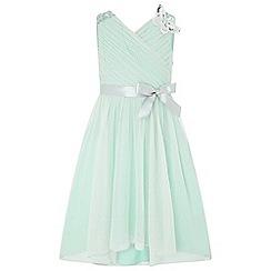 Monsoon - Green 'Mariposa' dress