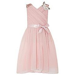 Monsoon - Pink 'Mariposa' dress