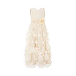 Monsoon - Cream limited edition maxi rose dress