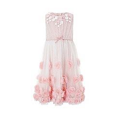 Monsoon - Pink 'Lille-rose' dress