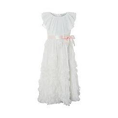Monsoon - White blossom maxi dress