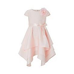 Monsoon - Pink 'Luna' tierred dress