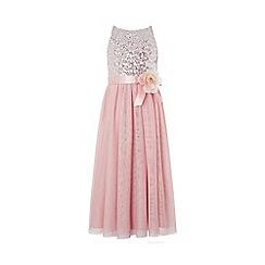 Monsoon - Pink 'Truth' maxi dress