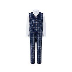 Monsoon - Blue 'dustin' 3pc waistcoat set