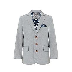 Monsoon - Grey 'Otis' linen mix jacket