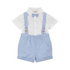 Monsoon - Blue baby 'albie' short set