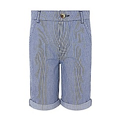 Monsoon - Blue 'Tommy' Stripe Short