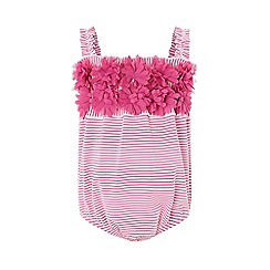 Monsoon - Pink baby 'Penny' swimsuit