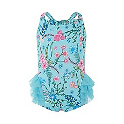 Monsoon - Blue baby 'Elsa' tutu swimsuit