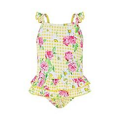 Monsoon - Yellow baby 'Daisy' swimsuit