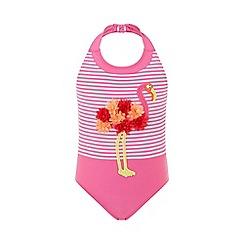Monsoon - Pink 'Frankie' flamingo swimsuit