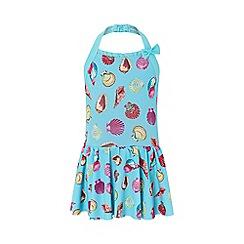 Monsoon - Blue 'Sandy' skirted swimsuit