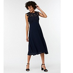 Monsoon - Blue 'Morgane' lace midi dress