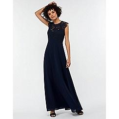 Monsoon - Blue 'Morgane' lace maxi dress