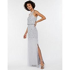 Monsoon - Silver 'Toni' embellished maxi dress