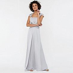 Monsoon - Silver 'Natasha' jersey maxi dress