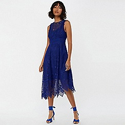Monsoon - Blue 'Carey' lace midi dress